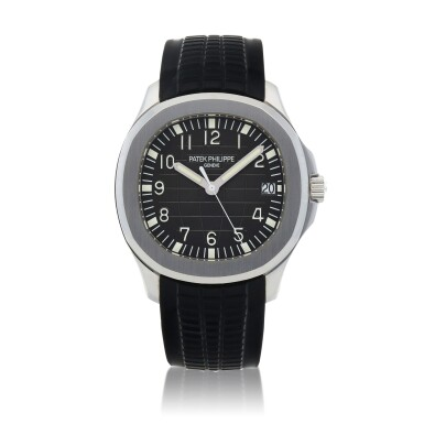 View 1. Thumbnail of Lot 70. Aquanaut, Ref. 5167A Stainless steel wristwatch with date Circa 2007 | 百達翡麗 5167A型號「Aquanaut」精鋼腕錶備日期顯示,年份約2007.