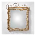 """A Unique """"Végétal"""" Mirror"""
