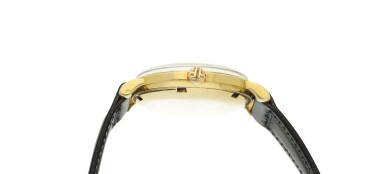 View 4. Thumbnail of Lot 239. Reference 3415  A yellow gold automatic wristwatch, Made in 1958.