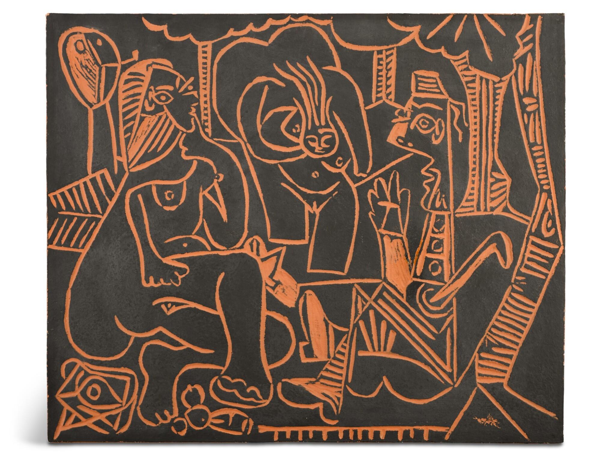View full screen - View 1 of Lot 57. PABLO PICASSO | LE DÉJEUNER SUR L'HERBE (A. R. 517).
