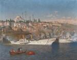 REINHOLD HANSCHE | Arrivalof Kaiser Wilhelm II in Constantinople
