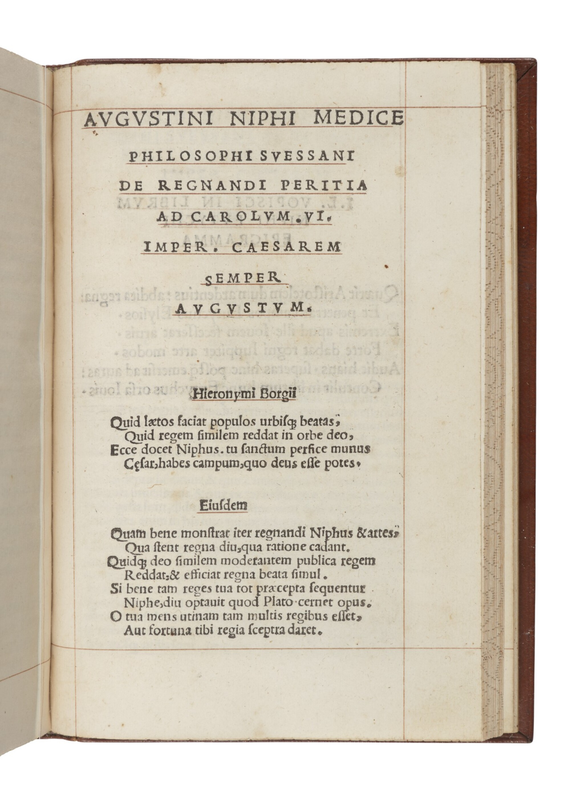 """View full screen - View 1 of Lot 231. Nifo, Agostino 