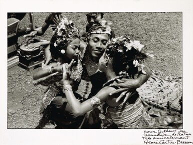 HENRI CARTIER-BRESSON | Bali, Sajan, Indonesia, The Alloeng Kotjok Dance, 1949