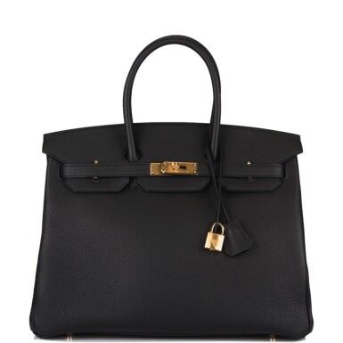 Hermès Black Togo Birkin 35cm Gold Hardware