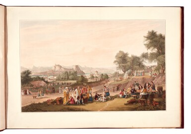 View 5. Thumbnail of Lot 165. Cartwright | Views in the Ionian Islands, 1821.