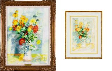 View 2. Thumbnail of Lot 4514. (i) Le Fleurs (ii) An associated lithograph of Le Fleurs (Hors Commerce 1) | (I)花卉  (II)相關石版畫.