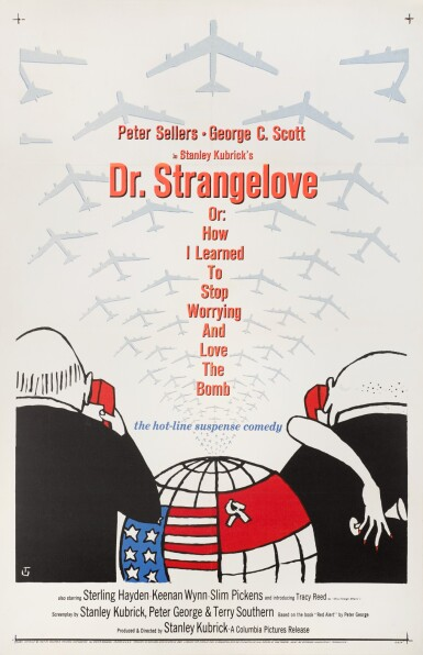 DR. STRANGELOVE (1964) POSTER, US