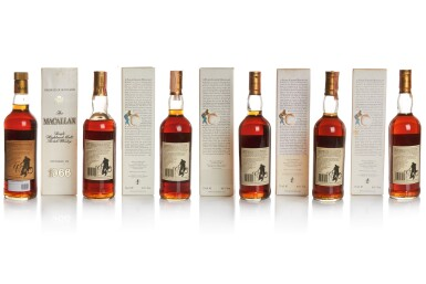 View 2. Thumbnail of Lot 18. THE MACALLAN 18 YEAR OLD 43.0 ABV 1967 .