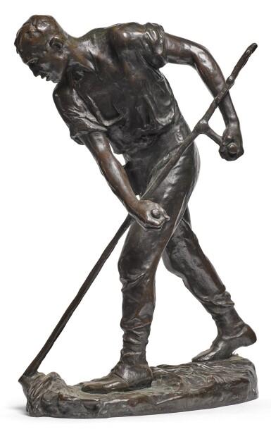 CONSTANTIN MEUNIER   LE FAUCHEUR (THE MOWER)