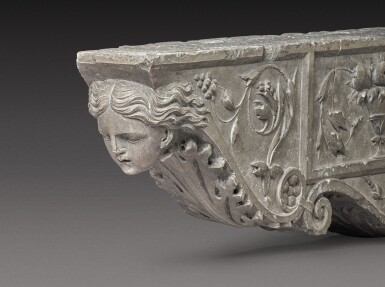 View 2. Thumbnail of Lot 129. Italian, Tuscany, 16th century | Pair of Architectural Brackets.
