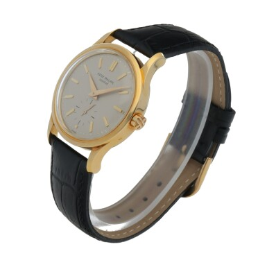 View 2. Thumbnail of Lot 82. Ref. 3403 Yellow gold wristwatch Made in 1958 | 百達翡麗 3403型號黃金腕錶,1958年製.