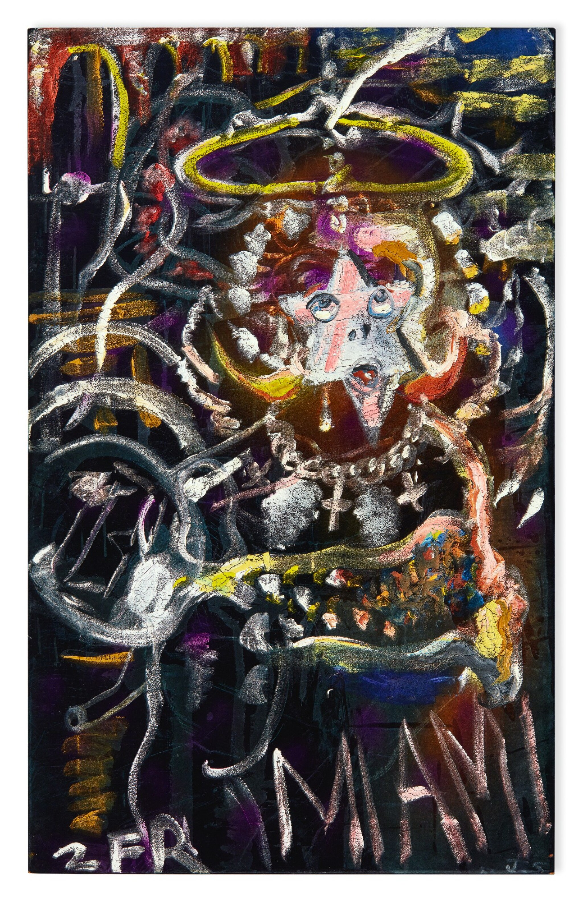 View full screen - View 1 of Lot 60. JULIAN SCHNABEL | UNTITLED (MIAMI).