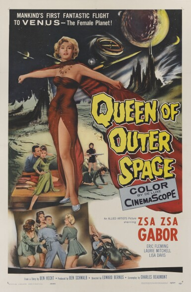 Queen of Outer Space (1958) poster, US
