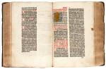 Missale Pragensis, Leipzig, Conrad Kachelofen, 1498, coloured, contemporary calf