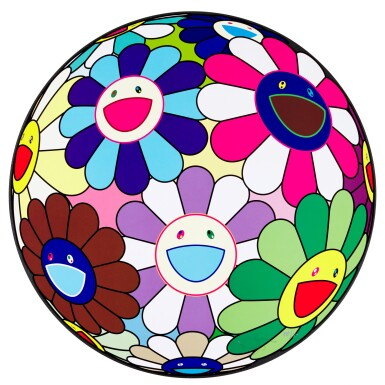 View 2. Thumbnail of Lot 60.  TAKASHI MURAKAMI | FLOWERBALL (3D) FROM THE REALM OF THE DEAD; AND FLOWER DUMPLING.