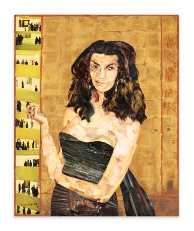 View 2. Thumbnail of Lot 42. Portrait d'Iris Clert.