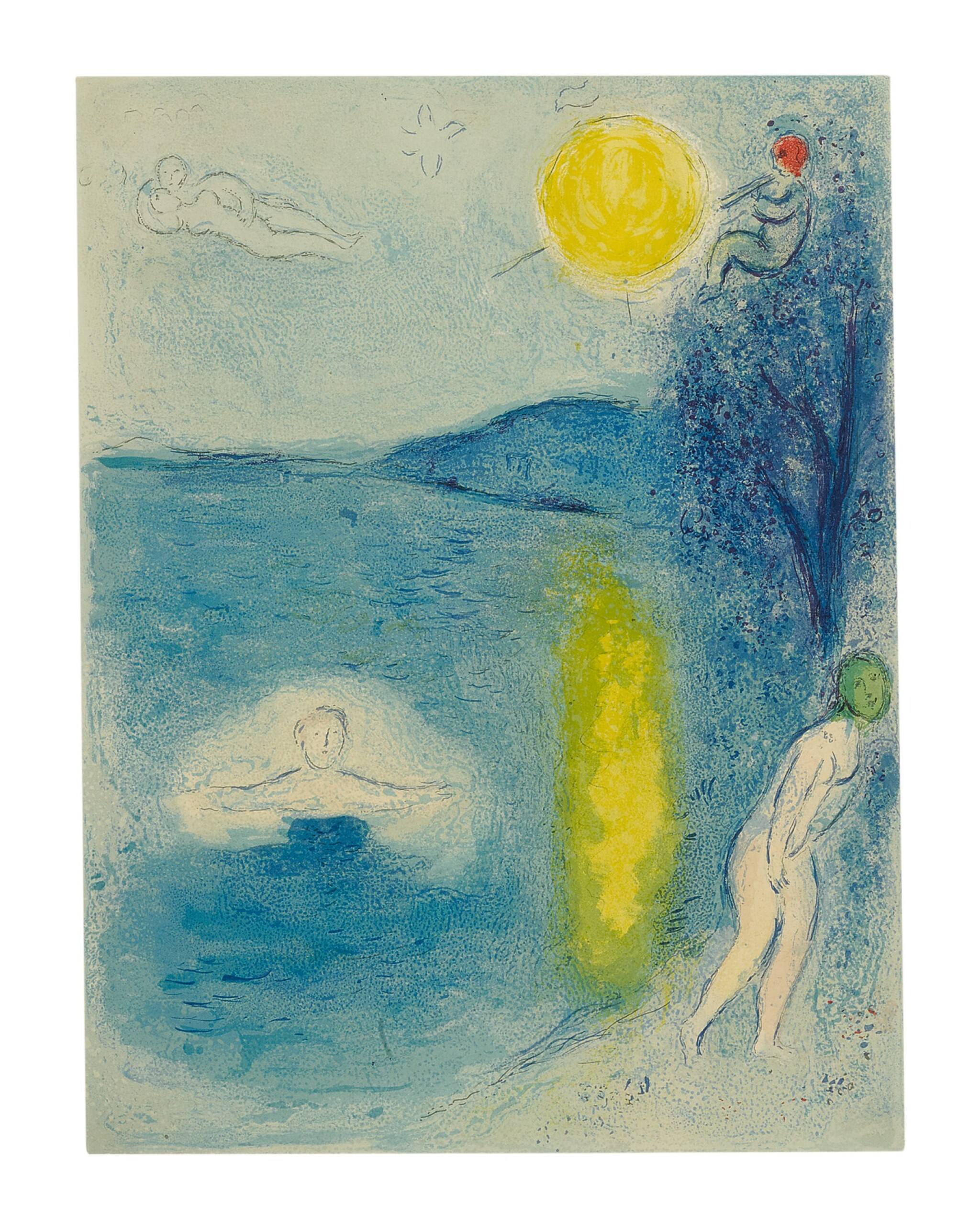 View 1 of Lot 21. MARC CHAGALL | THE SUMMER SEASON (M. 337; SEE C. BKS. 46).
