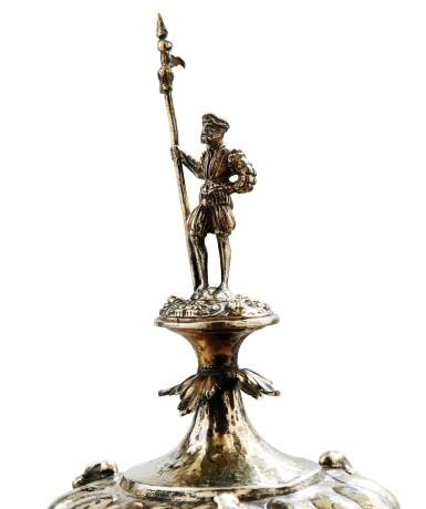 View 3. Thumbnail of Lot 100. COCONUT-CUP WITH SILVER-GILT MOUNTS, PROBABLY GERMANY CIRCA 1860 | NOIX DE COCO MOTÉE EN VERMEIL, PROBABLEMENT ALLEMAGNE VERS 1860  .