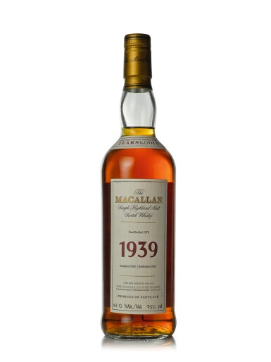 View 1. Thumbnail of Lot 28. The Macallan Fine & Rare 40 Year Old 43.0 abv 1939 (1 BT75cl).