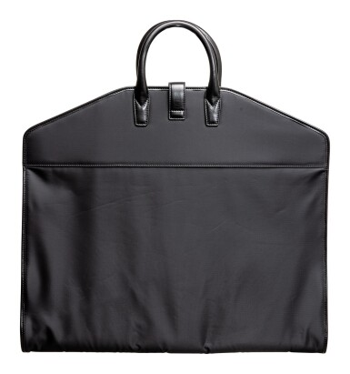 View 2. Thumbnail of Lot 617. A. LANGE & SÖHNE | A BLACK LEATHER AND POLYFABRIC GARMENT BAG, CIRCA 2012.