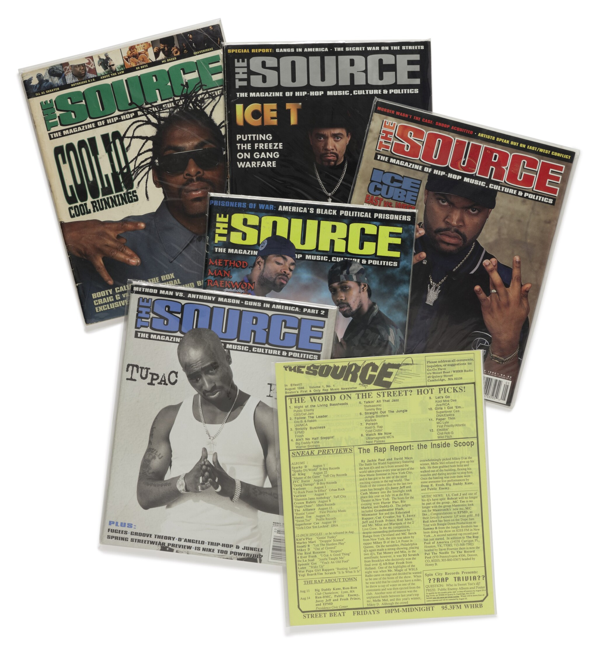 View full screen - View 1 of Lot 106. A COMPLETE RUN OF SOURCE MAGAZINE..