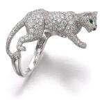 Emerald, onyx and diamond ring, 'Panthère'