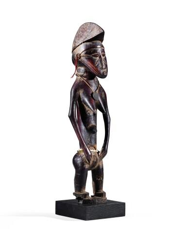 View 3. Thumbnail of Lot 27. Statue, Sénufo / Baulé, Côte d'Ivoire | Senufo/Baule figure, Côte d'Ivoire.
