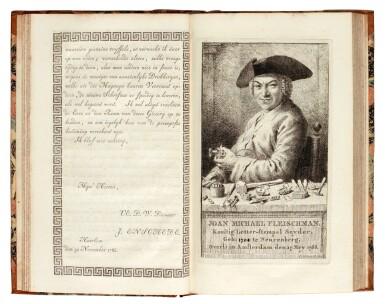 View 1. Thumbnail of Lot 113. Enschede, Proef van letteren, Haarlem, 1768, contemporary half calf.