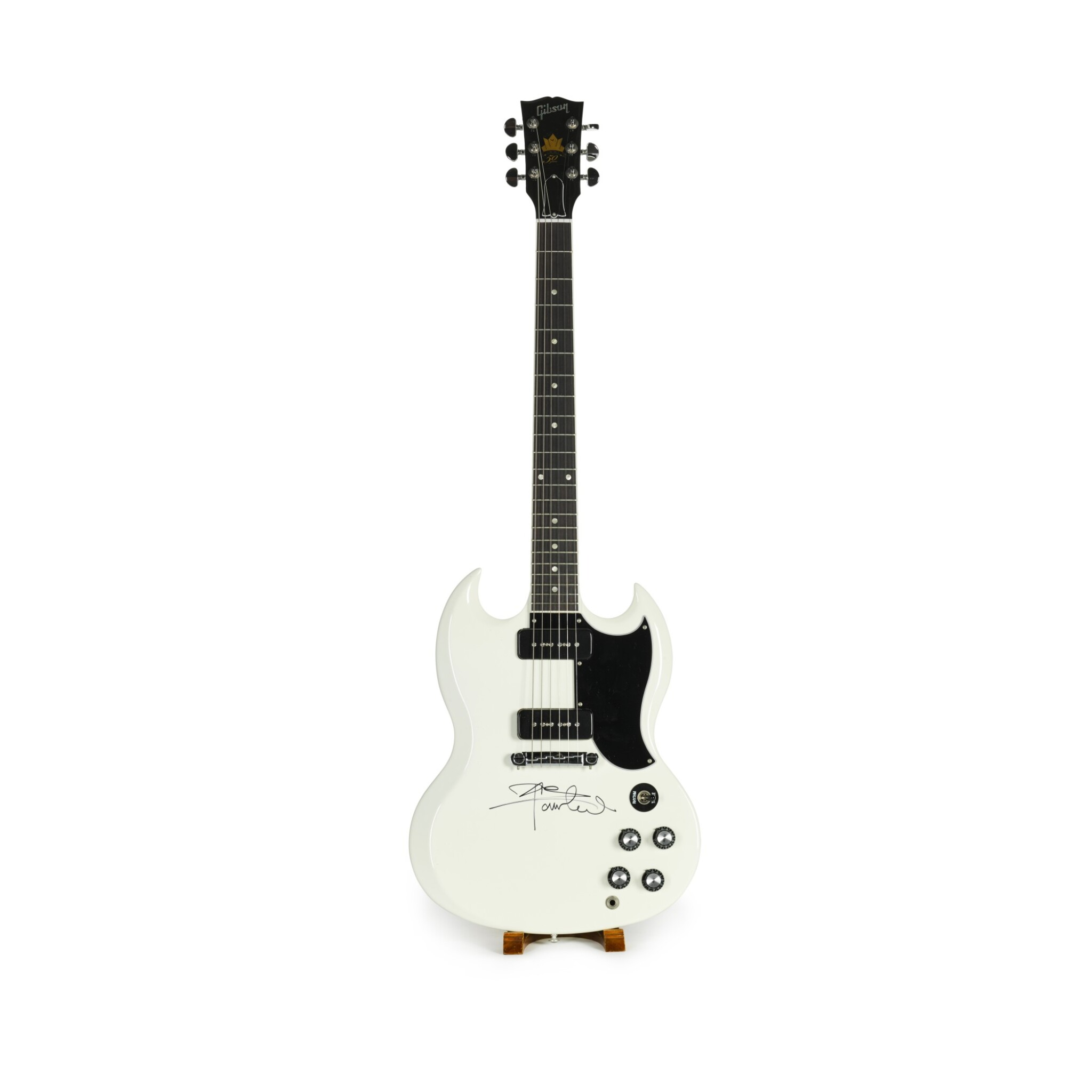 View 1 of Lot 12. Pete Townshend's Gibson 50th Anniversary SG Electric Guitar, 2011.