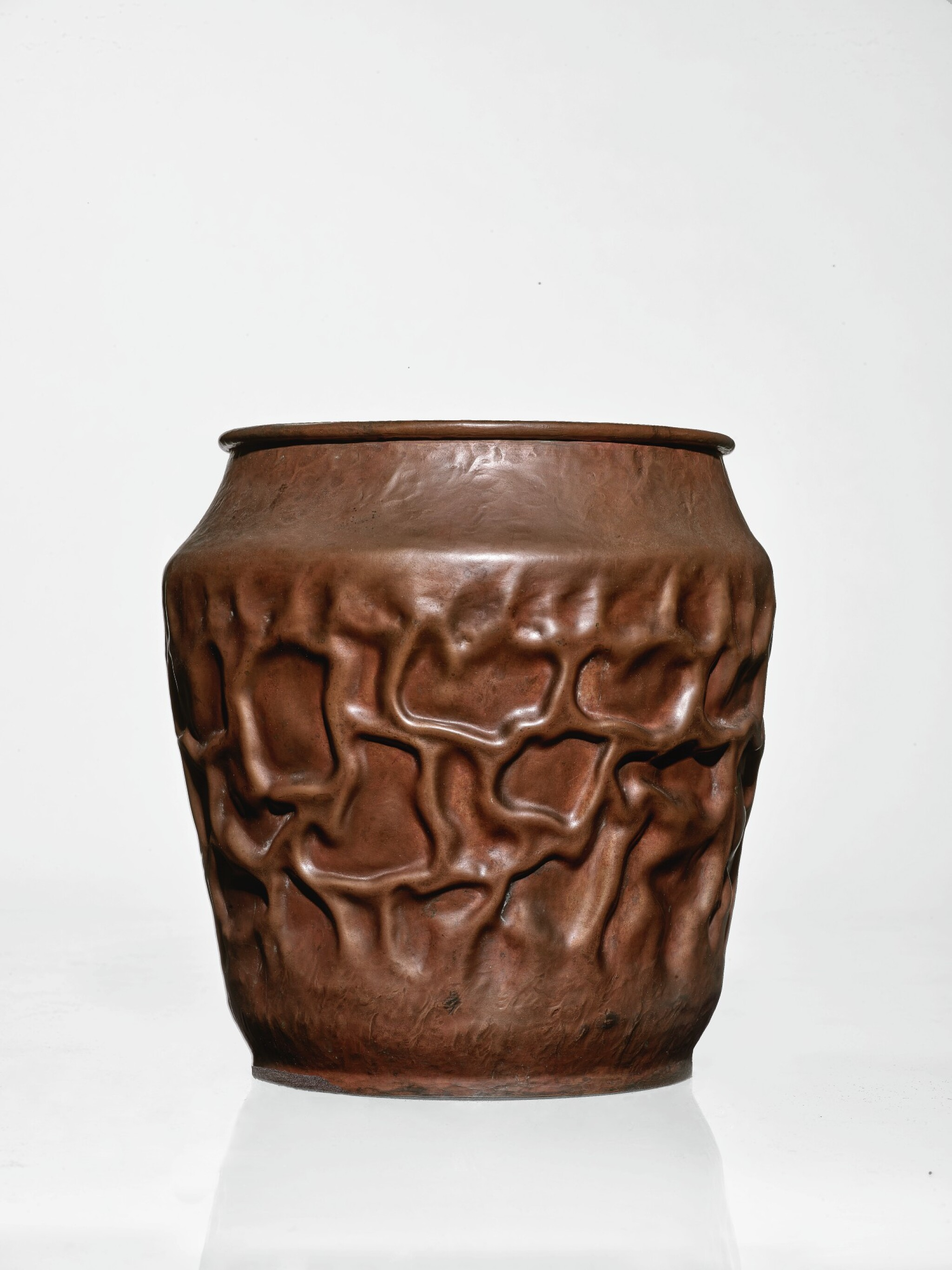 """View 1 of Lot 331. """"Cratered"""" Vase."""