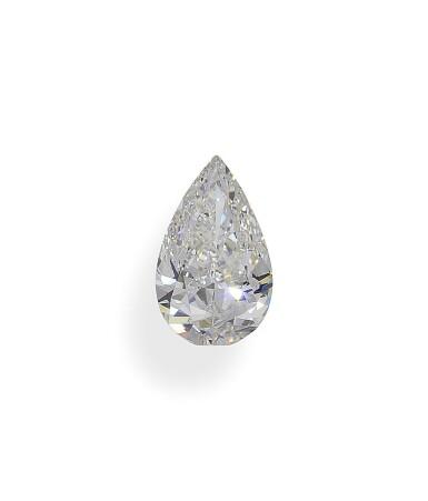 A 2.01 Carat Pear-Shaped Diamond, H Color, VS1 Clarity