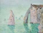 GUSTAVE LOISEAU | L'AIGUILLE ET LA PORTE D'AVAL (ÉTRETAT)