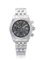 BREITLING | CHRONOMAT REF A13356, A STAINLESS STEEL AUTOMATIC CHRONOGRAPH WRISTWATCH WITH DATE AND BRACELET CIRCA 2005