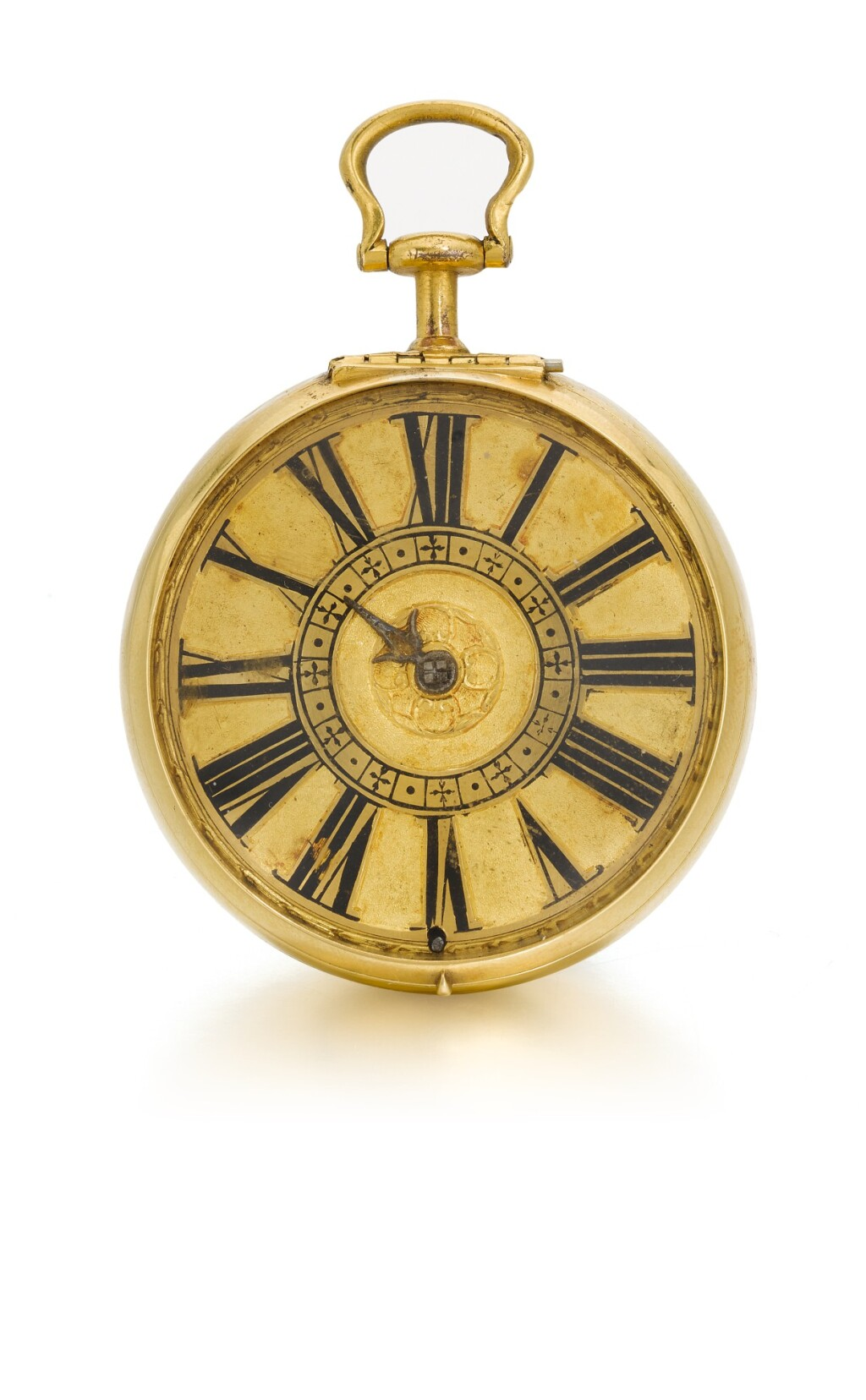HENRICUS HARPUR, LONDINI | A GOLD PAIR CASED VERGE WATCH WITH LATER FILIGREE OUTER