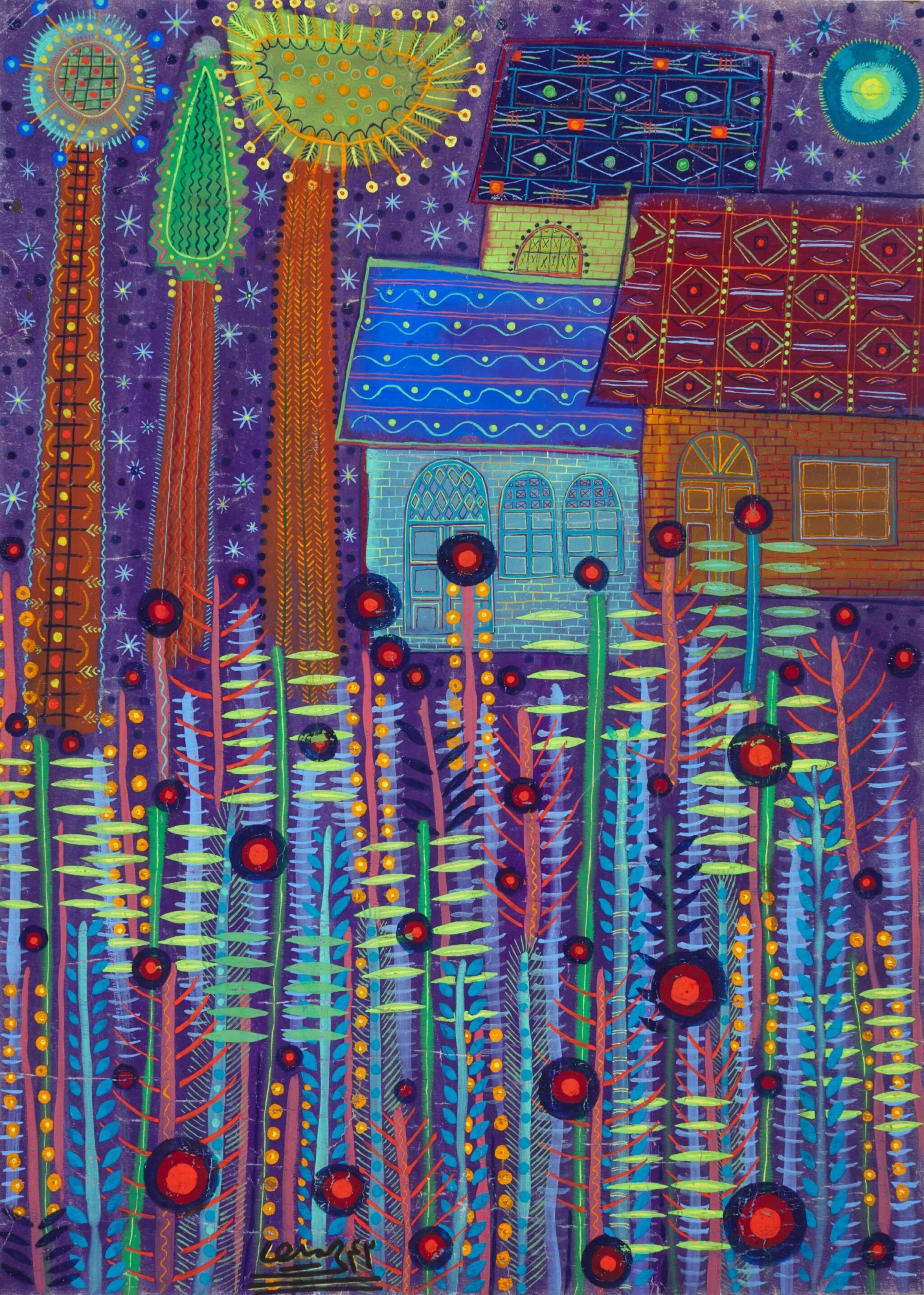 View full screen - View 1 of Lot 51. FEREYDOUN RAHIMI-ASSA   UNTITLED.