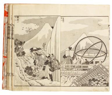 KATSUSHIKA HOKUSAI (1760–1849), EDO PERIOD, 19TH CENTURY   ONE HUNDRED VIEWS OF MOUNT FUJI (FUGAKU HYAKKEI)