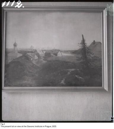 View 6. Thumbnail of Lot 36. ALEXEI KONDRATIEVICH SAVRASOV | VIEW OF MOSCOW.