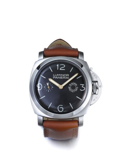 PANERAI   LUMINOR 1950 REFERENCE PAM 203, A RARE OVERSIZED STAINLESS STEEL LIMITED EDITION CUSHION FORM WRISTWATCH WITH 8 DAY POWER RESERVE CIRCA 2008