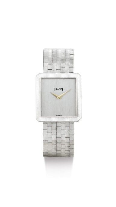 PIAGET | REFERENCE 9154, A WHITE GOLD BRACELET WATCH, CIRCA 1970