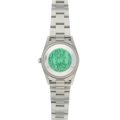 View 5. Thumbnail of Lot 274. REFERENCE 14010 AIR KING A STAINLESS STEEL AUTOMATIC WRISTWATCH WITH BRACELET, CIRCA 2006.