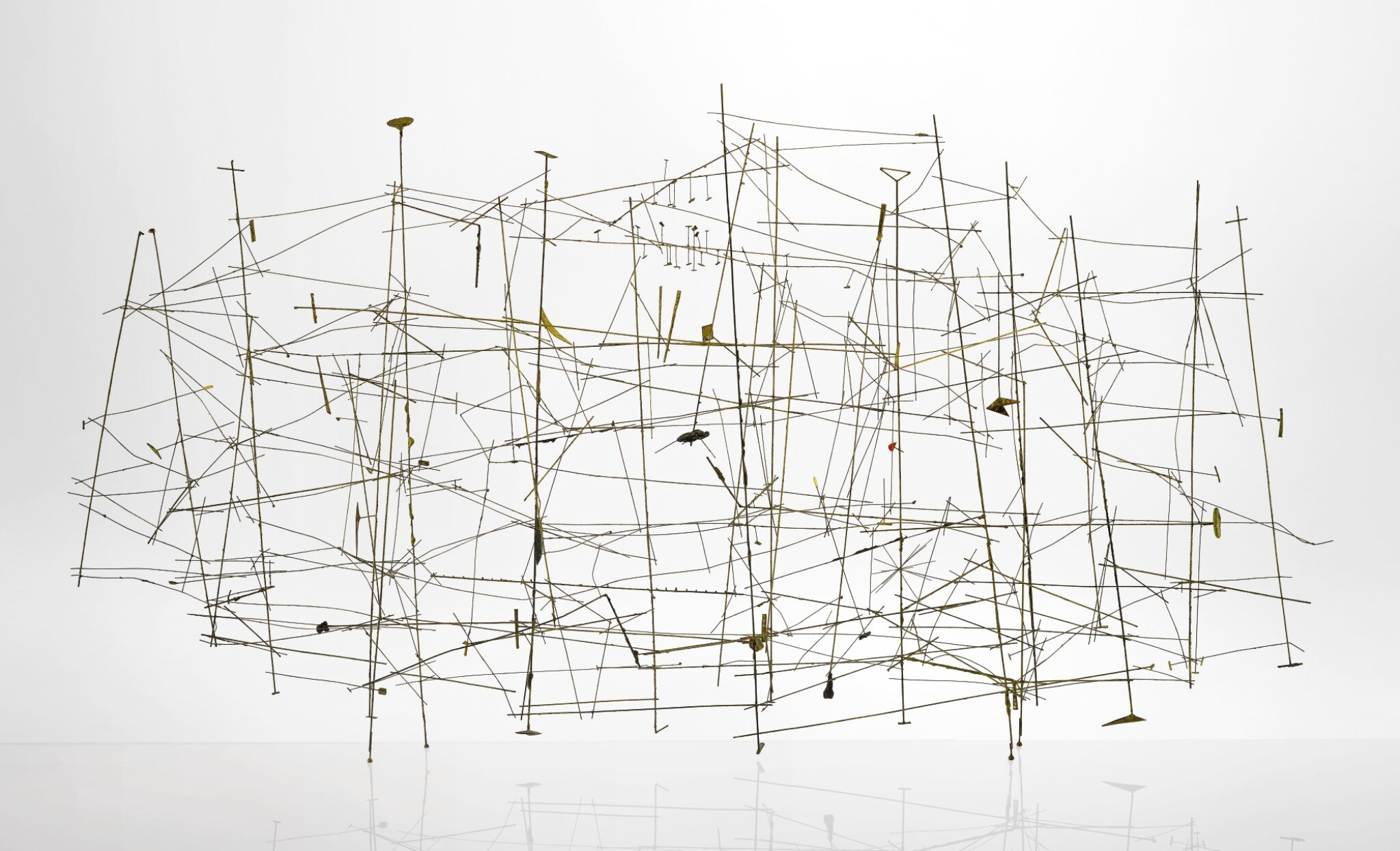 View full screen - View 1 of Lot 303. HARRY BERTOIA | UNTITLED (WIRE CONSTRUCTION).