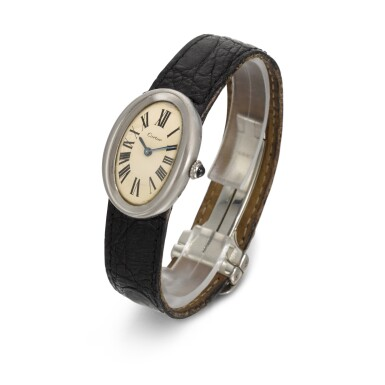 View 2. Thumbnail of Lot 41. BRIAN EPSTEIN | Cartier wristwatch, 1966.