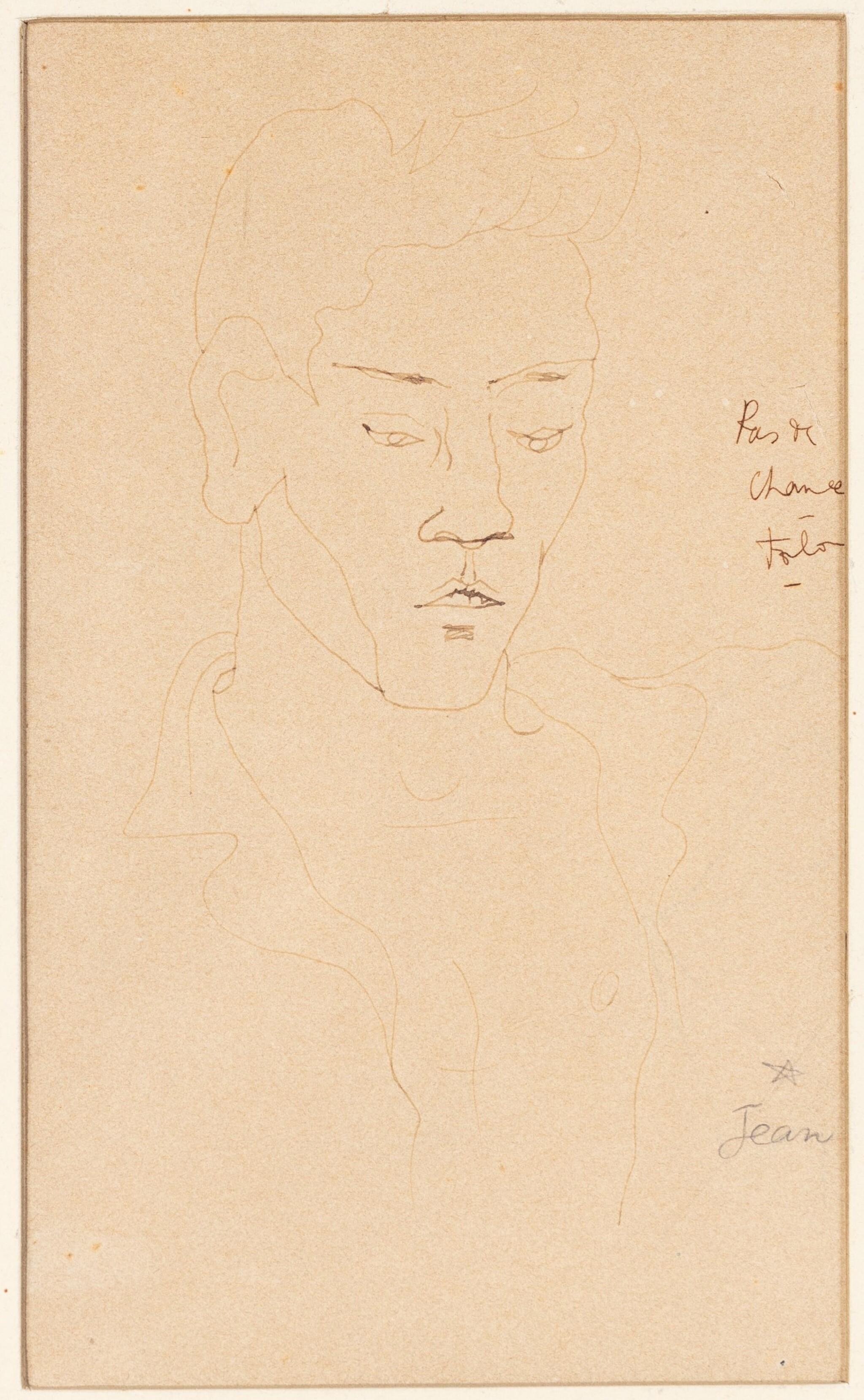 View 1 of Lot 101. Pas de chance (Portrait de Marcel Servais).