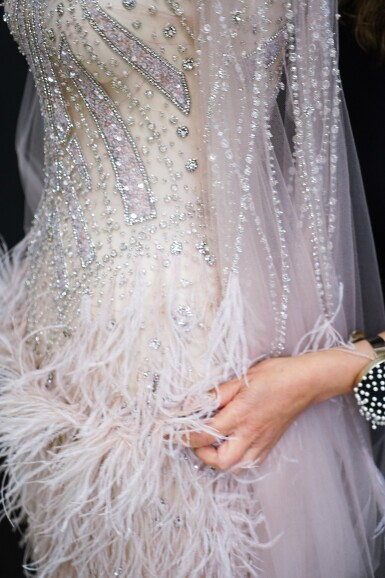 View 5. Thumbnail of Lot 58. A glimpse behind the scenes of the New York Atelier of Reem Acra..