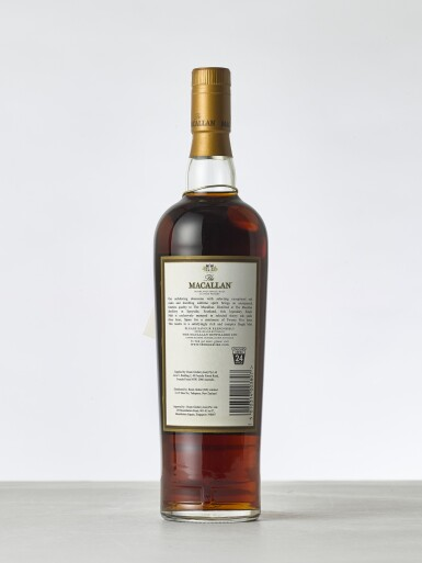 View 2. Thumbnail of Lot 2021. Macallan, 25 Year Old Sherry Cask NV (1 BT70).