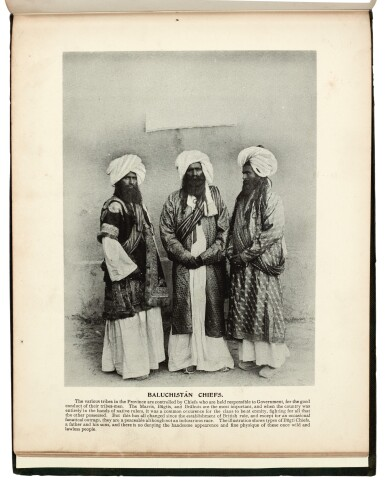 View 2. Thumbnail of Lot 298. Bremner | Baluchistan illustrated, Quetta, 1900.