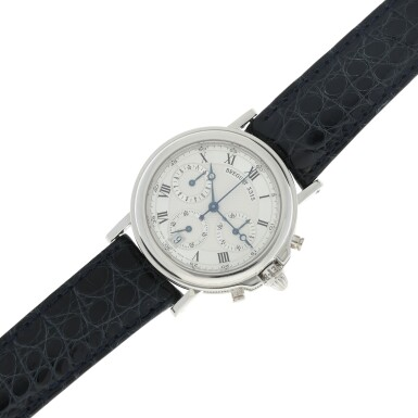 View 6. Thumbnail of Lot 13. REFERENCE 3315N MARINE A PLATINUM AUTOMATIC CHRONOGRAPH WRISTWATCH WITH DATE, CIRCA 2000.