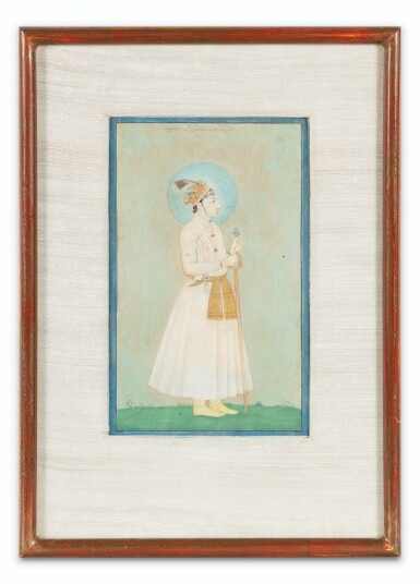 View 8. Thumbnail of Lot 71. NORTHERN INDIA AND DECCAN, 19TH CENTURY | FOUR PORTRAITS.