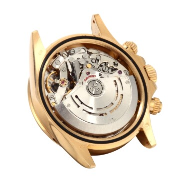 View 3. Thumbnail of Lot 9. ROLEX | Daytona, Ref 116528 A Yellow Gold Chronograph Wristwatch with Bracelet Circa 2001.
