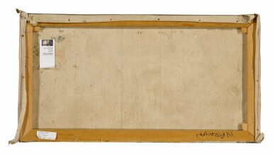 View 2. Thumbnail of Lot 1821. BADRI NARAYAN | UNTITLED (MAN AND MOON).